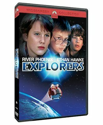 Explorers (DVD  1985 MOVIE ETHAN HAWKE RIVER PHOENIX Jason Presson Bradley Gregg
