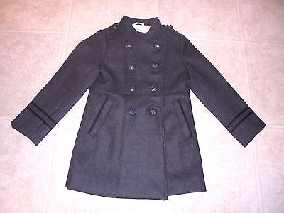 $248 Crewcuts By J Crew Girls' Wool Military Coat Nwt Size-6-7 Item #A8931
