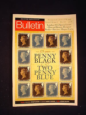 GB Stamps - British Philatelic Bulletin - Vol 52 # 9 - May 2015