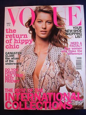 Vogue - March 2002 - International collections