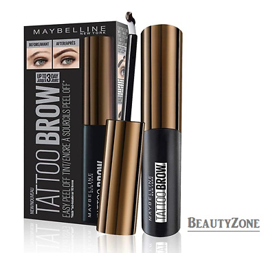 Maybelline Tattoo Brow Easy Peel Off Tint - Choose Your Shade