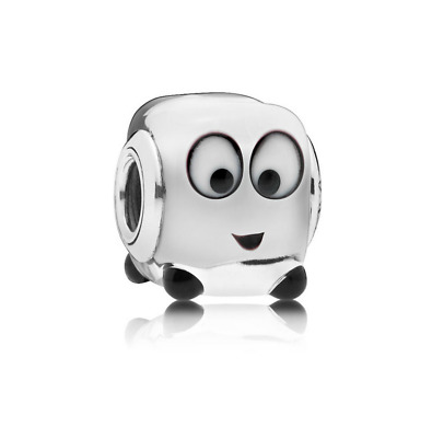BRAND NEW PANDORA Sterling Silver ICE Heart Melter Murano Glass Charm 797515