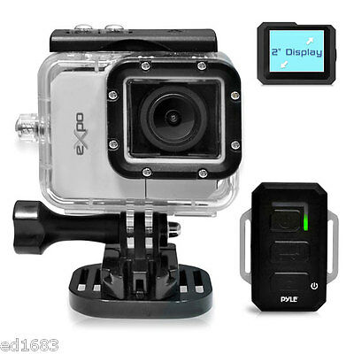 20MP 1080p Sport Action Extremal Cam Camcorder Water Resistant Case HDMI