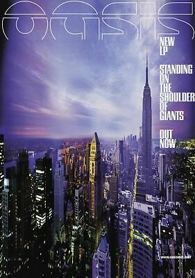Oasis  Poster Print A5..a4..a3 A2 Options