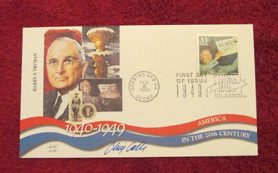 1999 Harry S. Truman First Day Cover (FDC) - SIGNED by cover artist Chris Calle