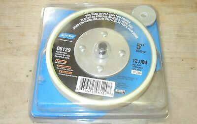 "NORTON 5""  Sanding Disc Back-Up Pad,  Low Profile # 06129 NORGRIP"