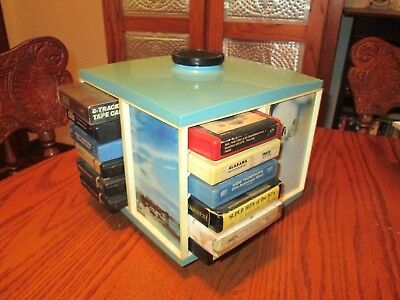 Vintage 8 Track Stowaway with Cassettes * Rare & HTF