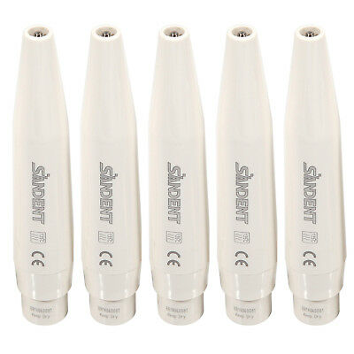 5PCS SANDENT Dental Ultrasonic Piezo Scaler Handpiece Fit DTE SATELEC Tips UK