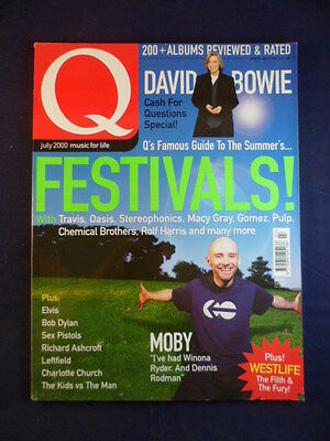Q magazine - July 2000 - Festivals