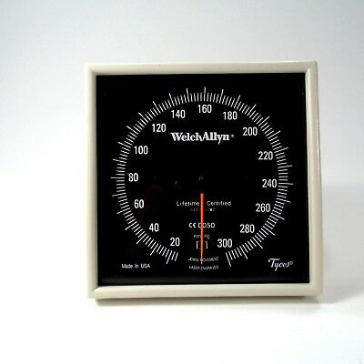 Welch Allyn Tycos Aneroid Sphygmomanometer Blood Pressure Wall Mount - FREE SHIP