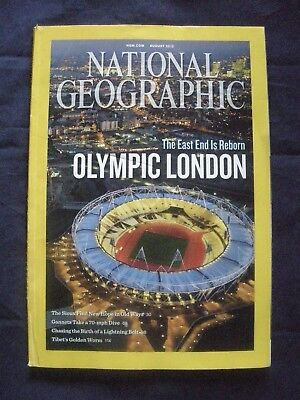 National Geographic - August 2012 - Olympic London