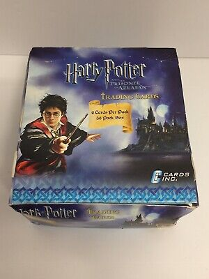Harry Potter And The Prisoner Of Azkaban Trading Cards Complete Box Free Post