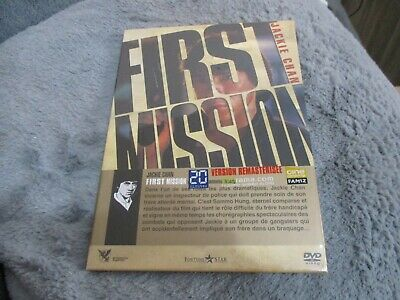 "DVD DIGIBOOK NEUF ""FIRST MISSION"" Jackie CHAN, Sammo HUNG"