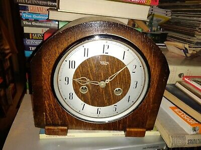 Smiths Enfield Deco Clock (Chimes) 1952