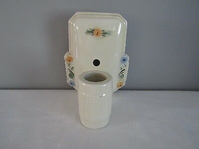 Vintage Ceramic Porcelain Floral Wall Light Fixture Outlet