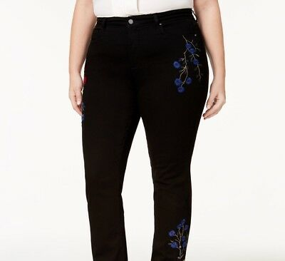 Charter Club Lexington Embroidered Tummy-Co Saturated Black Combo 18