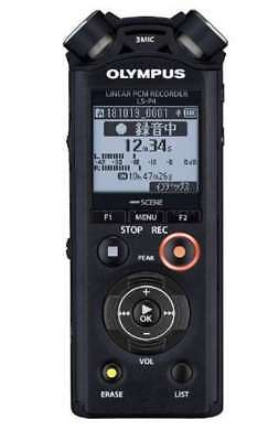 OLYMPUS Linear PCM Recorder Portable Voice recorder LS-P4 black 8GB from Japan