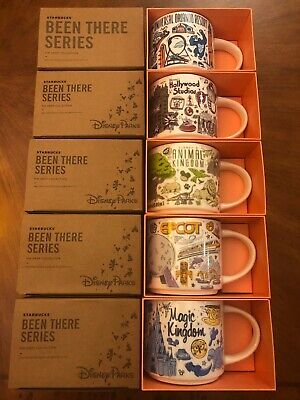 2019 Disney Set 5: Magic/ Animal Kingdom, EPCOT , Holly/Uni BTS Starbucks Mugs