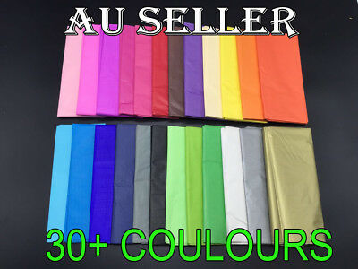 Bulk 1-250 sheets Tissue Paper Gift Wrap Wrapping Craft Paper Gold Silver L