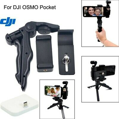 4 in1Tripod+Phone clip+Transfer Extension Clip+charging base for DJI OSMO Pocket