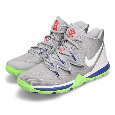 8b8281137a29d1 Nike Kyrie 5 GS V Irving Wolf Grey Lime Kid Youth Women Shoes Sneaker  AQ2456-