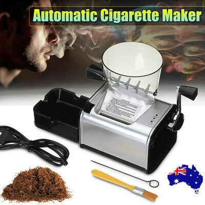 Automatic Rolling Cigarette Machine Electric Maker Inject Tube DIY Tobacco 7-8mm