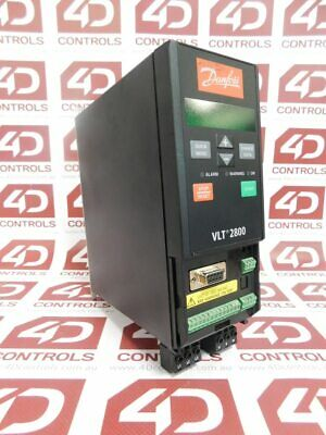 Danfoss 195N1013 VLT 2800 Inverter Variable Speed Drive 1.9A 380-480V 50/60Hz...