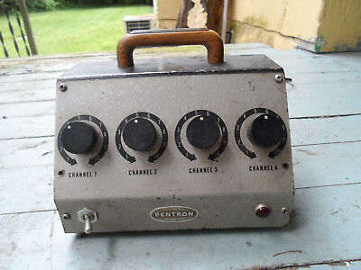 Vintage Pentron MM-4A Guitar or Tube microphone Preamp