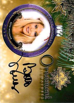 Beth Williams 2015 Bench Warmer Holiday Past & Presents Autograph Auto