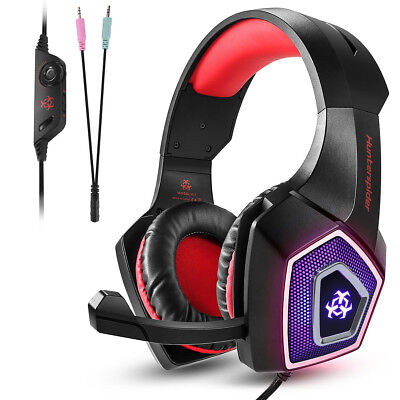 V1 Gaming Headset Earphone Headphone With Mic for PS4 Xbox One PC NS 3DS IPad AU