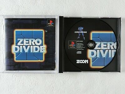 ZERO DIVIDE PS1 ZOOM Sony Playstation Spine From Japan