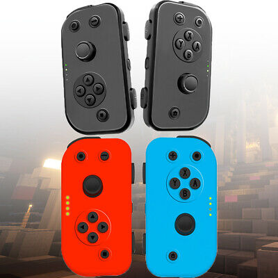 Left Right Wireless Game Controllers Joy-Con Gamepad for Nintendo Switch Console