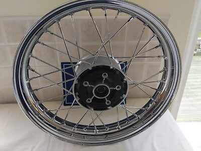 triumph Bonneville t120 front wheel water cooled removed from a new 2016 bike