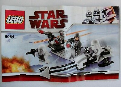 Lego Star Wars 8084 Stormtrooper Battle Pack Instruction Set Up Manual