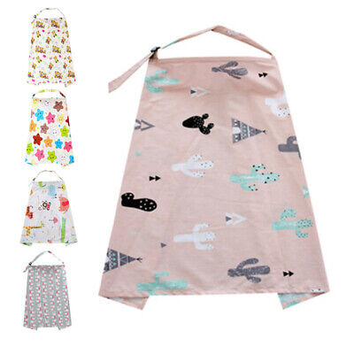 Shawl Nursing Cover Baby Car Seat Canopy SOFT Blanket Cloth New Floral 1x Pro