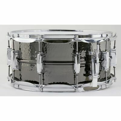 """Ludwig - Black Beauty Snare LB417K, 14""""x6,5"""", Hammered"""