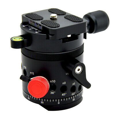 DH-55 Indexing Rotator HDR Panoramic Ball Head With 1/4 inch Quick Release Plate