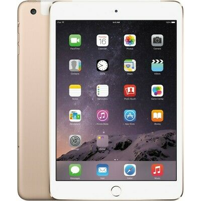 "Apple Ipad Mini 3 - 7.9 "" Retina Display 16 Gb Wi-Fi Gold"