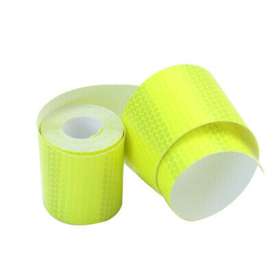 3m Fluorescence Yellow Night Reflective Safety Warning Conspicuity Tape OTG