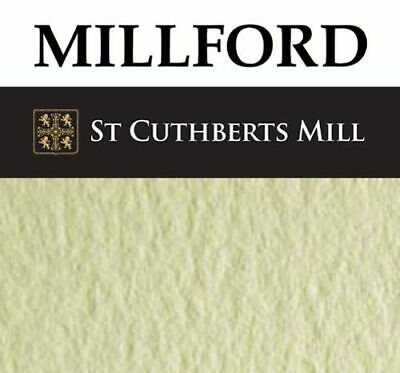 Millford Watercolour Paper Sheets - 300gsm 100% Cotton Mould Made - Many Sizes
