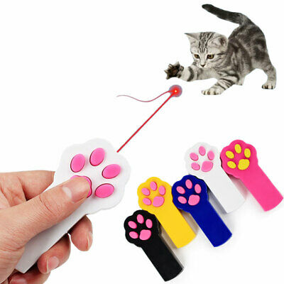 FUN & CUTE Claw/Paw LED Laser Pointer Pet Cat Interactive Toy Teaser