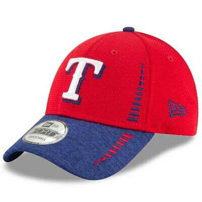 best loved 5add6 5545d New Era Texas Rangers Red Speed Tech 9FORTY Adjustable Hat