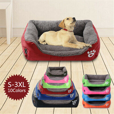 Large Pet Dog Cat Bed Puppy Cushion House Soft Warm Kennel Mat Blanket h8