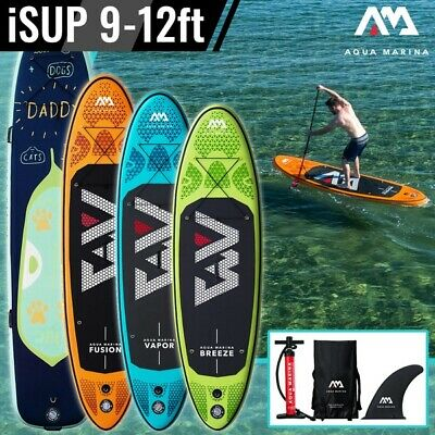 Aqua Marina iSUP / Inflatable SUP Stand Up Paddle Board - 4 Different Models!