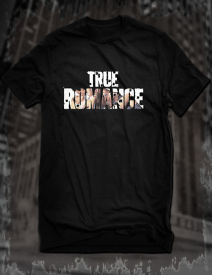New Black True Romance Cult Film T-Shirt Slater Arquette Tarantino Scott Movie