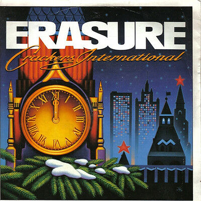 "ERASURE ~ Crackers International EP ~ 7"" Single PS"