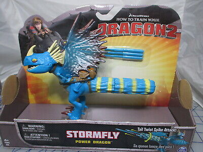 How to Train Your Dragon 2 STORMFLY Power Dragon Tail Twist Spike Attack FS NEW
