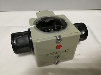 block from mbs-10 microscope. With Drum