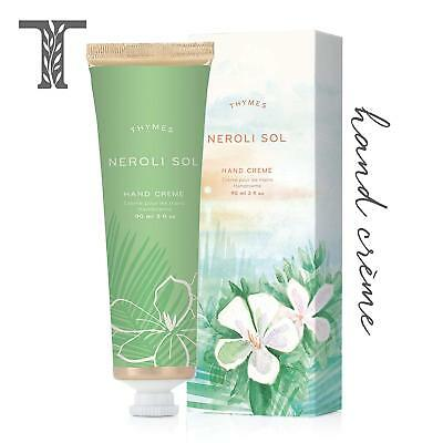 Thymes Neroli Sol Hand Crème 3 oz New without Box