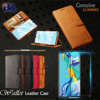 For Huawei P30 Pro P30 Lite Case Retro Leather Flip Wallet Stand Magnetic Cover